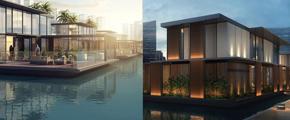 Dubai canal will soon have floating homes what 39 s on dubai - The floating homes of dubai luxury redefined ...