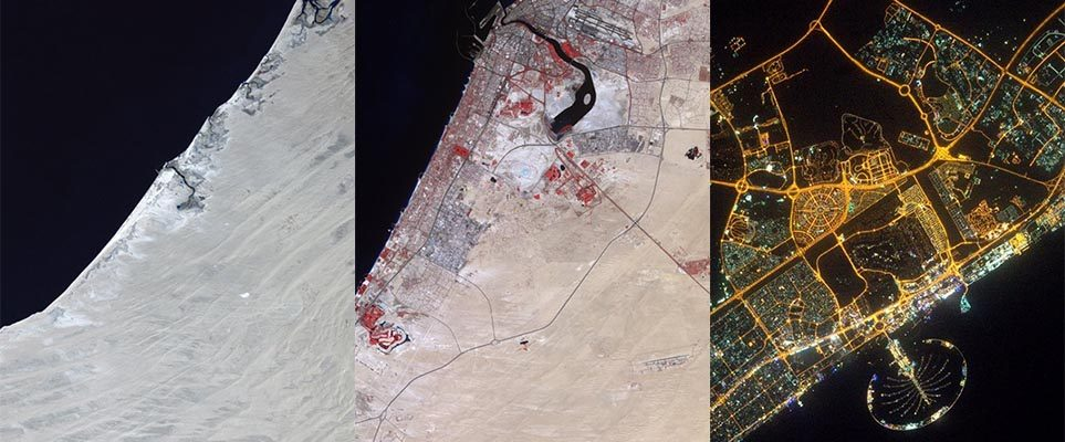 Witness Dubai's transformation over four decades...from ...