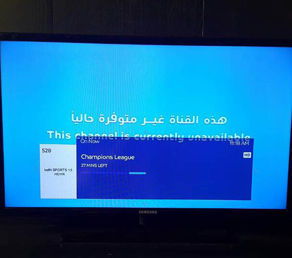 Television channel back on air