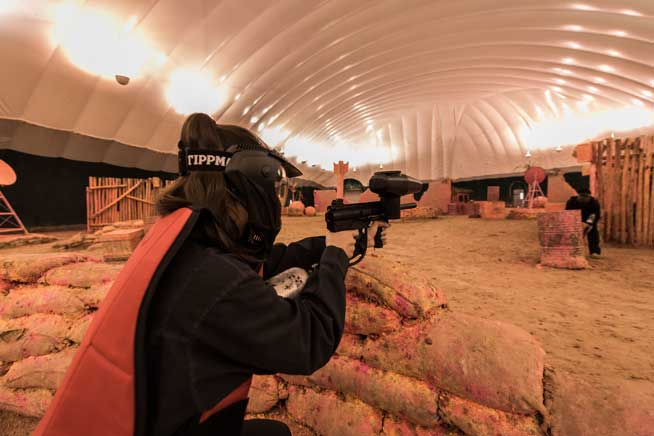 Shoot To Thrill Where To Try Laser Tag Paintball And