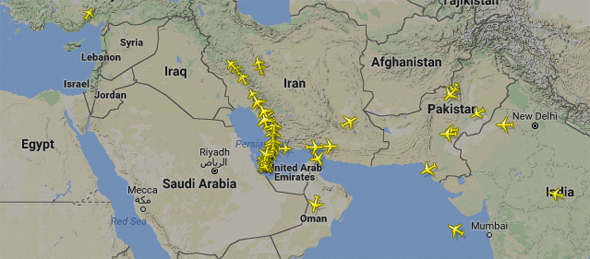 How Will The Qatar Airways Ban Affect Flights Travellers From - Map of qatar and egypt