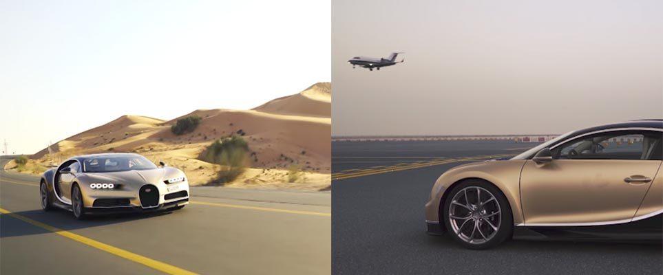 Bugatti chiron dubai