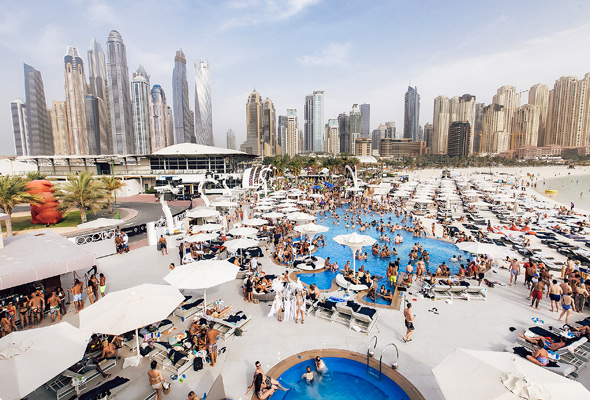 Beat the heat 4 pool parties in dubai this weekend for Beat hotel in dubai