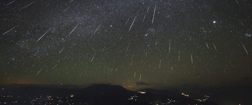 meteor shower in dubai