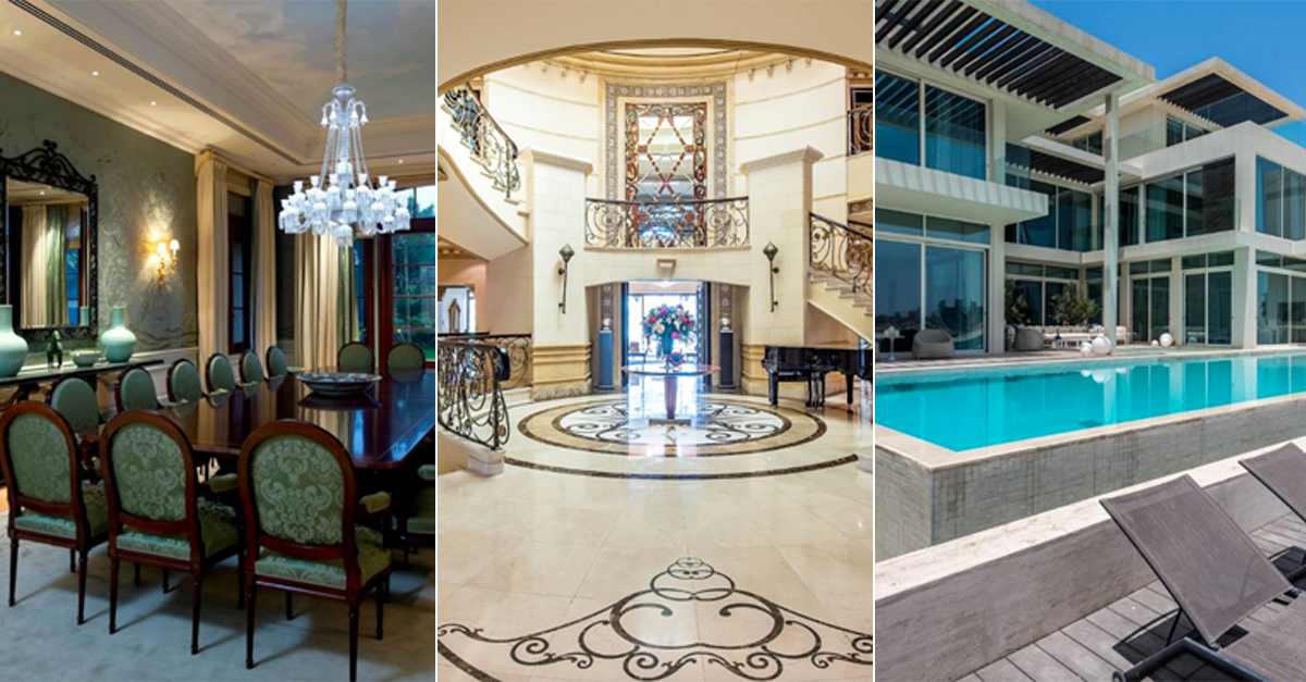 Check Out 10 Of The Most Expensive Homes For Sale In Dubai Right Now
