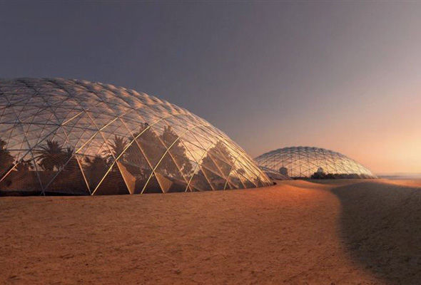 UAE Announces $140 Million BIG-Designed Mars Science City