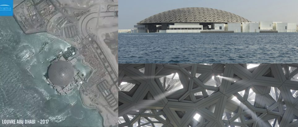 The View From Above Check Out This Awesome Louvre Abu Dhabi Time Lapse From One Of The Uaes Satellites Whats On Abu Dhabi