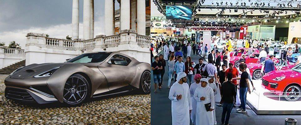 Rev Your Engines The Dubai International Motor Show Is Back - Car show dubai