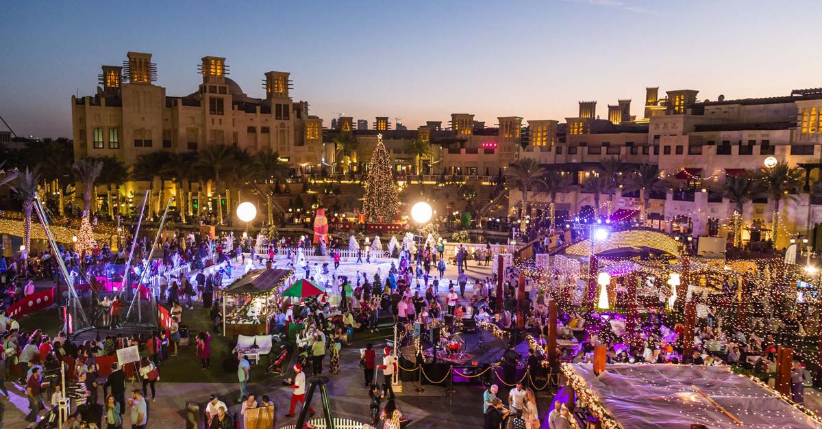 Christmas In Dubai Four Christmas Markets In Dubai To