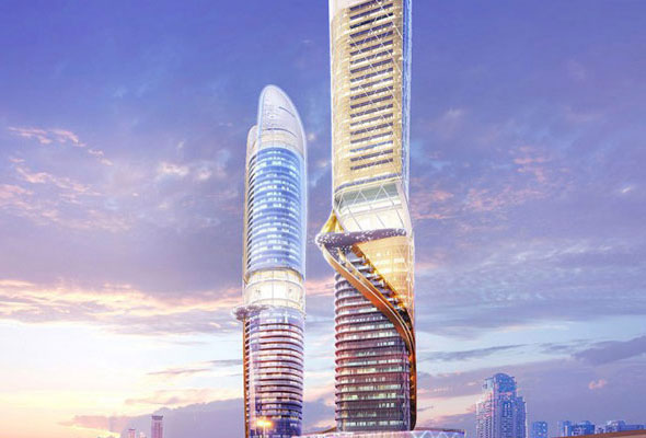 Scheduled To Open In 2018 The Two Tower Rosemont Hotel And Residences Is A 450 Room 280 Apartment Property Which Will Be Developed On Dubai S Sheikh