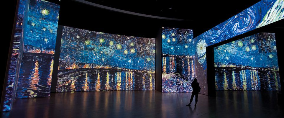 Exhibition Stand Design Awards : This magical van gogh exhibition is coming to dubai