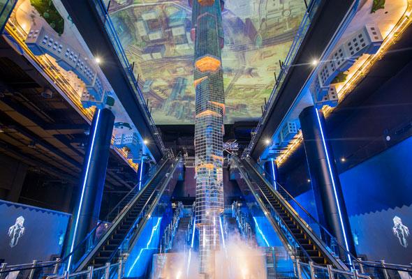 Virtual reality theme park opens in Dubai Mall