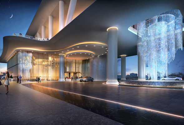 Here S What The Dorchester Hotel In Dubai Will Look Like
