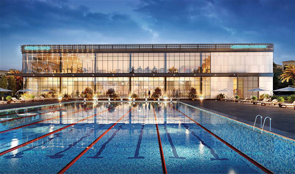 This dubai neighbourhood is getting a massive new sports for Swimming pool site plan