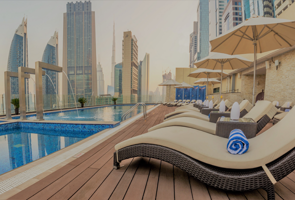 You can now take a dip at the world 39 s tallest hotel - Tallest swimming pool in the world ...