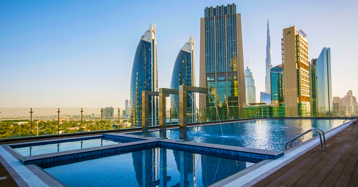 You Can Now Take A Dip At The World 39 S Tallest Hotel