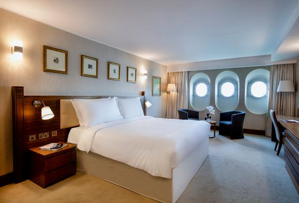 Inside The Qe2 Dubai S Floating Hotel