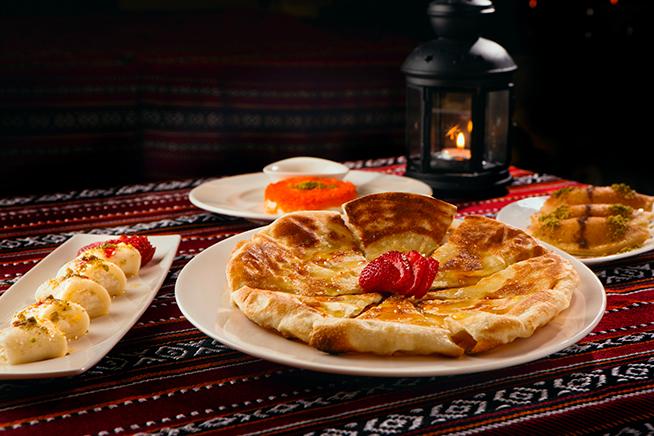 Rosewater Restaurant Abu Dhabi Menu