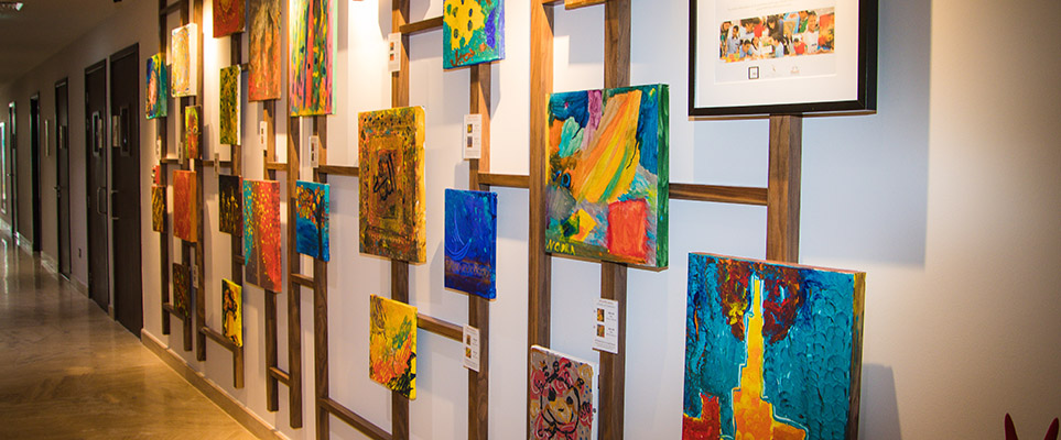 D Painting Exhibition In Dubai : Proceeds from this art exhibition in dubai are going to a