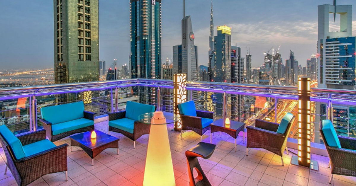 6 rooftop bars in Dubai which are at least 40 floors high