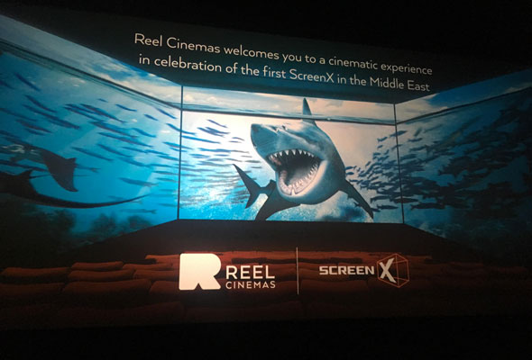 A Collaboration Between Reel Cinemas And Cj 4dplex A Korean Based Tech Company The Screenx Is The First In The Uae