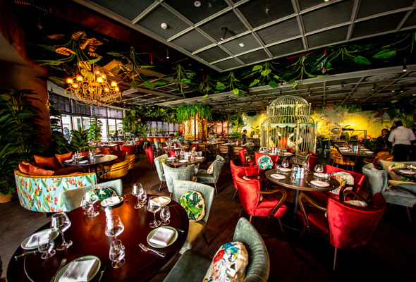 Theres Now A Tropical Jungle Themed Restaurant In Pier 7
