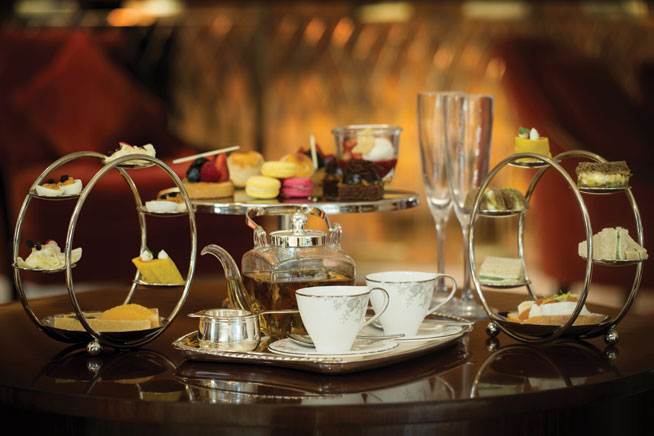 The Conrad Dubai Afternoon Tea