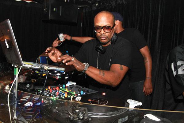 DJ Jazzy Jeff at Barasti