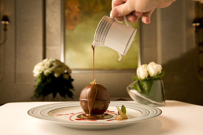 Chocolate extravaganza at Bord Eau