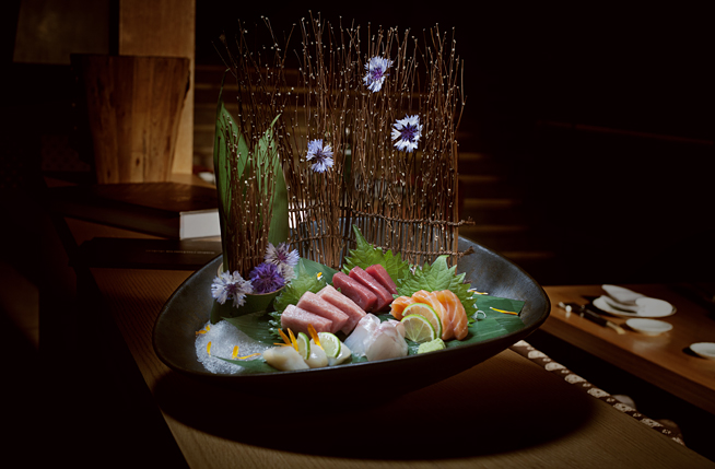 Tuna Sashimi at Sake No Hana