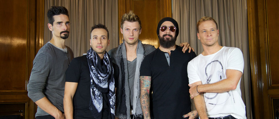 Backstreet Boys are to perform in Dubai