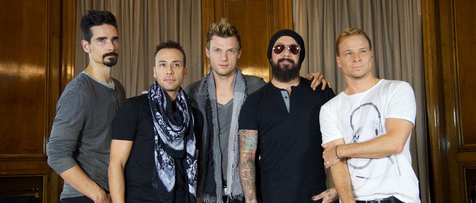 Backstreet Boys are to perform in Dubai