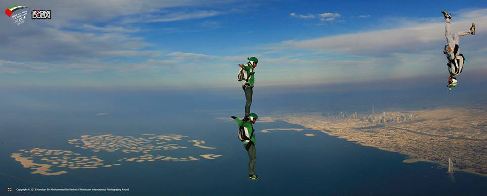 Skydive Dubai instructor Brad Merritt's amazing photo