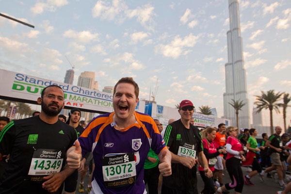 Dubai Marathon 2014