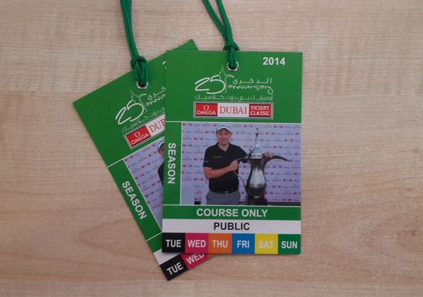 Win tickets to the Dubai Desert Classic