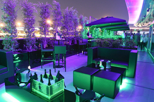 The new Terrace Space at VIP Room