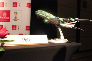 Pele has been announced as Global Ambassador for Emirates