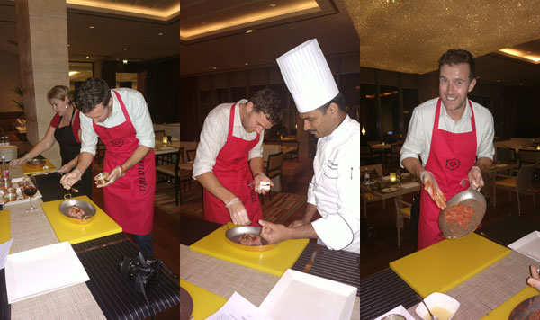 What's On cooking dum pukht at Ananta, Oberoi