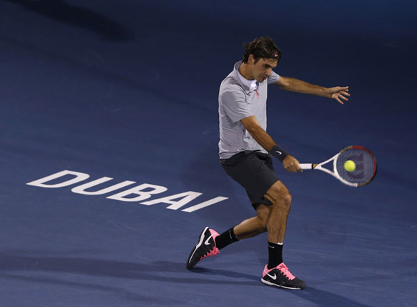 Roger Federer will play at the Dubai Duty Free Tennis Championships