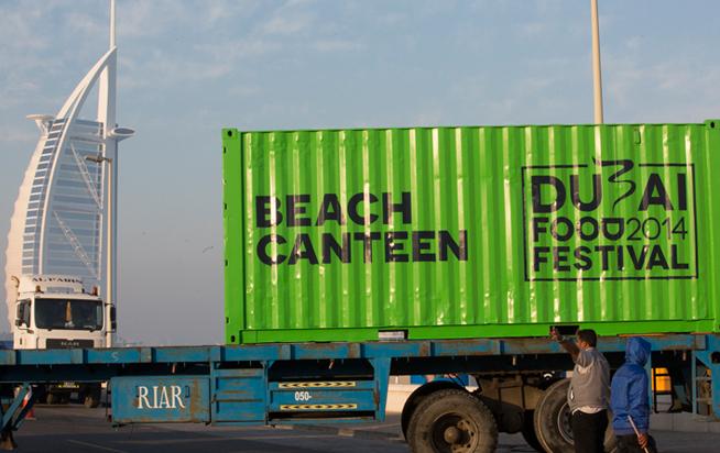 Beach Canteen project for Dubai Food Festival