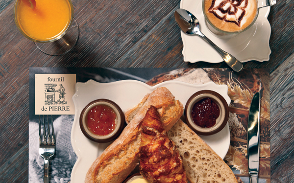 Best breakfasts in Dubai - Fournil de Pierre