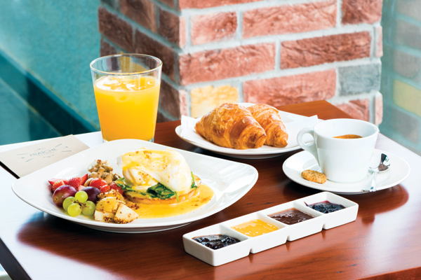 Best breakfasts in Dubai - Cafe Fraiche
