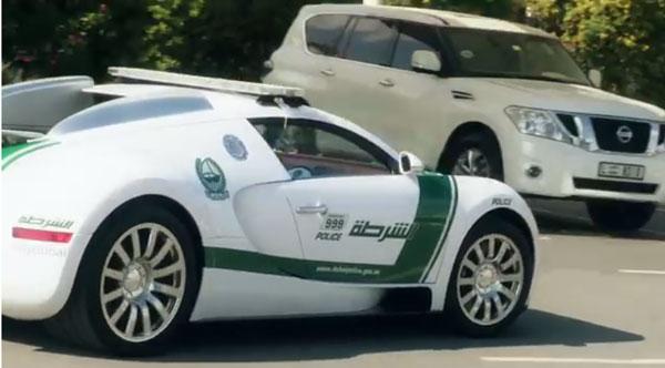 Dubai Police add Bugatti Veyron to fleet