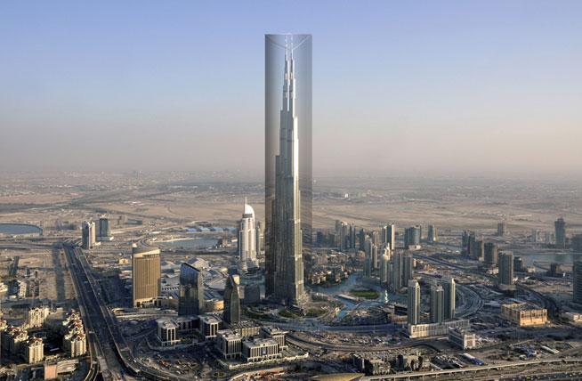 Burj Khalifa subject of bizarrer art project plan