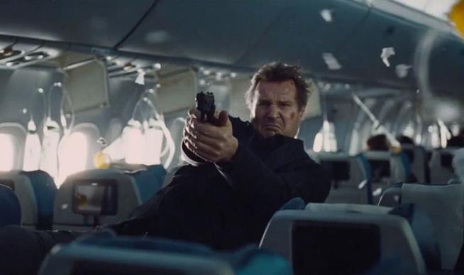 Liam Neeson stars in Non Stop