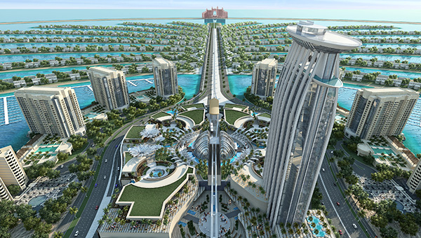 Nakheel Mall on Palm Jumeirah