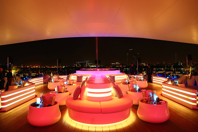 Cielo Sky Lounge opening party