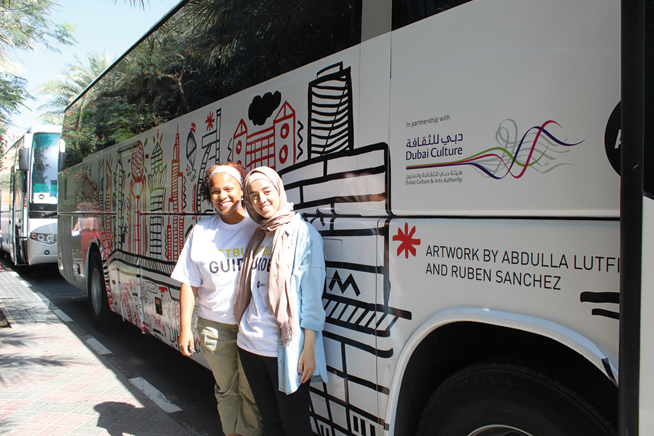 Art bus, Art Dubai