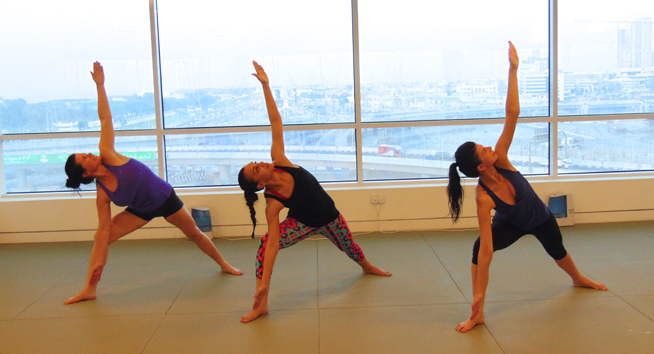 Bikram yoga in Dubai - two week boot camp