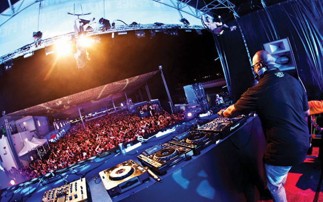 Carl Cox in Dubai